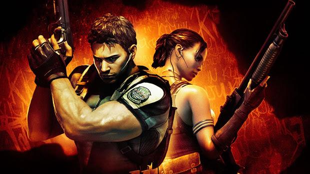 Chris e Sheva formavam a dupla principal de Resident Evil 5. (Foto: Divulgação) (Foto: Chris e Sheva formavam a dupla principal de Resident Evil 5. (Foto: Divulgação))