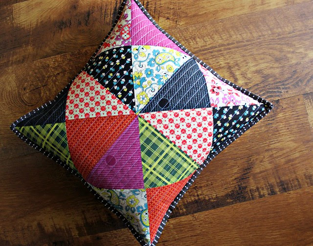 Chicopee Patchwork Pillow - one more!