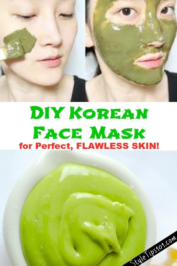 Diy Face Mask Korea