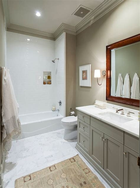 grey bathroom vanity  beige wall decorating grey