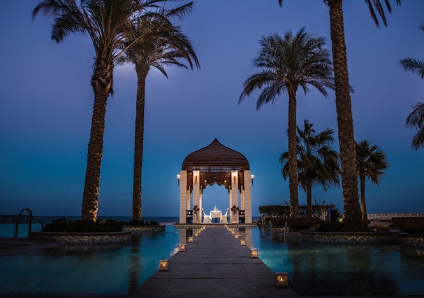 Romantismo em Dubai (Foto: Reprodução)