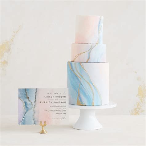Trend Spotlight: Cards   Cakes with Minted   Green Wedding