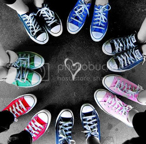 color splash photo: Color splash converse converse-1.jpg
