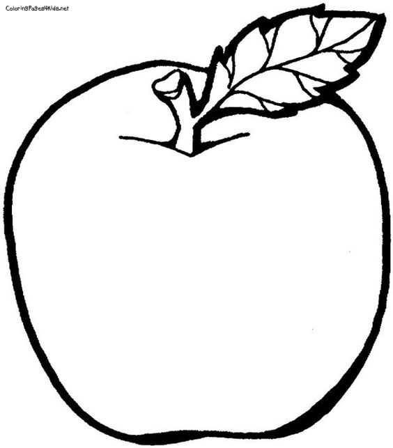 Boyama Jpeg Okul öncesi Elma Resmi Wwwimagenesmycom