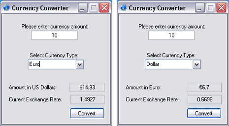 Skatt Utleie Euros To Dollars Calculator