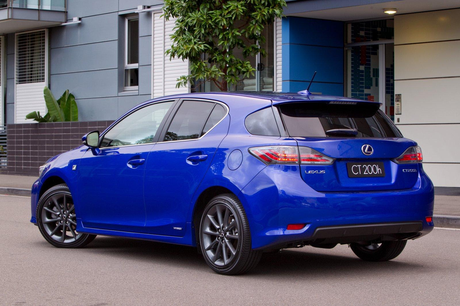 new lexus ct200h 2012 will have fsport package in the us