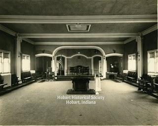 Masonic temple interior