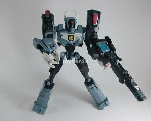 Transformers Shockwave Animated Voyager - modo robot