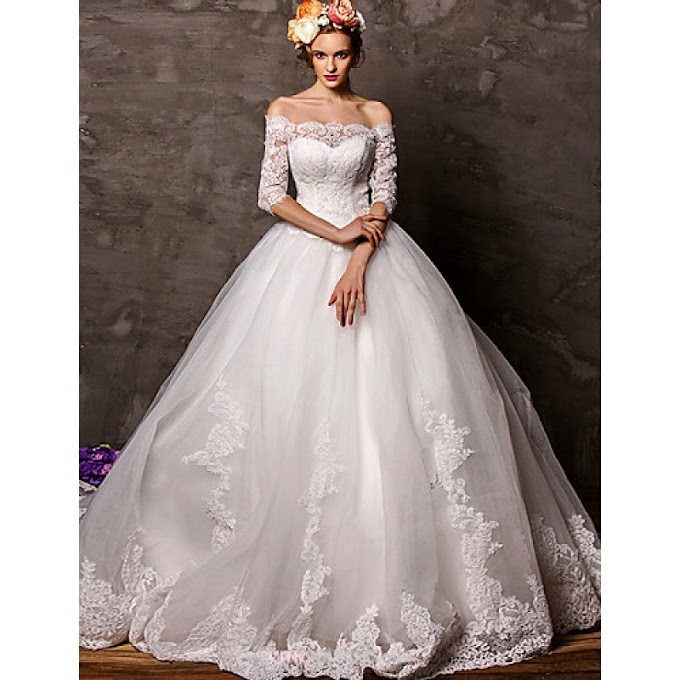 How To Buy Ball Gown Wedding Dresses UK Online Shop