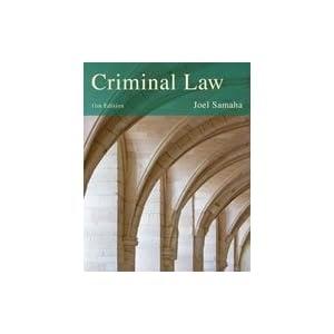 Criminal Law & Procedure: Books