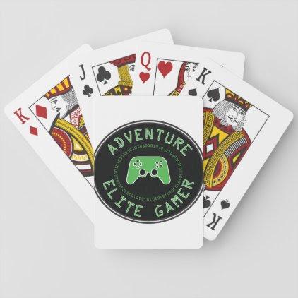 Adventure Elite Gamer Playing Cards