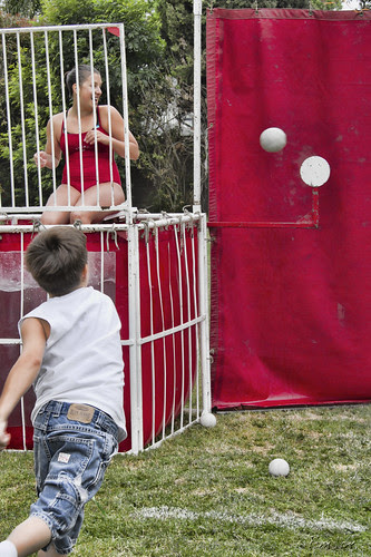 Kid's Day dunk tank