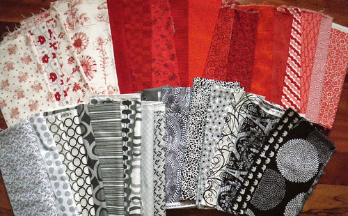 Fabrics for the Ogee QAL