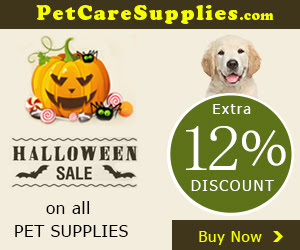 Halloween Sale Extra 6% Discount + Free Shipping on all PET SUPPLIES