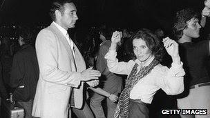 Margaret Trudeau dança