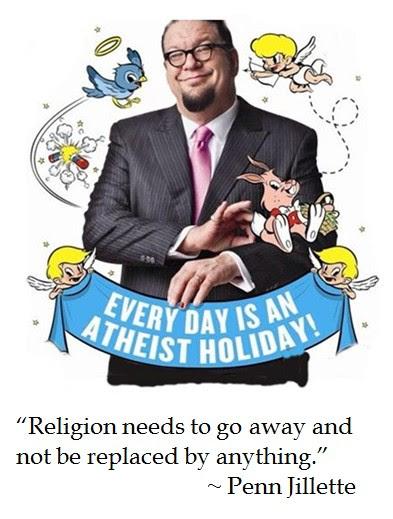 Penn Jillette atheism