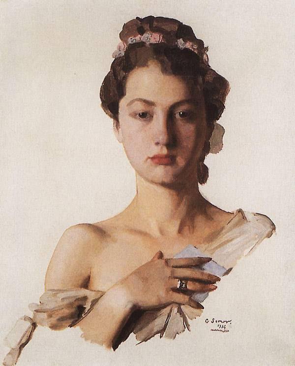 Портрет Александры Левченко. 1934