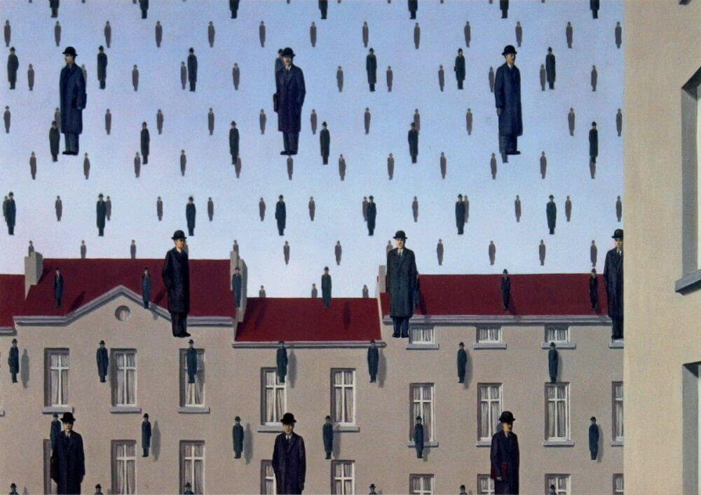 http://www.renemagritte.org/images/paintings/golconda.jpg