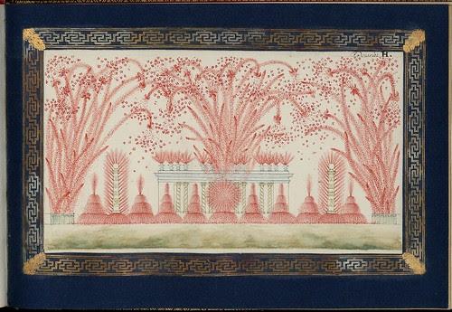 Projet du feu d'artifice tiré à Versailles en présence de sa majesté Louis XV, le 15 mai 1771, à l'occasion du mariage de Monseigneur le comte de Provence et de Marie-Joséphine de Savoie (a)