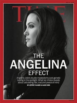Angelina Jolie na capa da revista 'Time' (Foto: Reprodução)