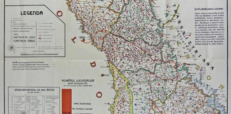 Basarabia 1940 Harta