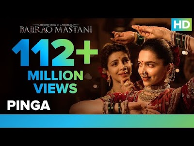 Pinga Official Video Song from Bajirao Mastani | Deepika Padukone, Priyanka Chopra