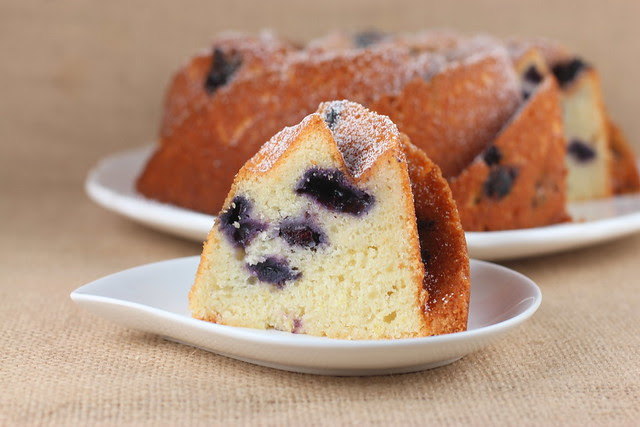 Lemon Blueberry Ricotta Bundt - I Like Big Bundts 2013