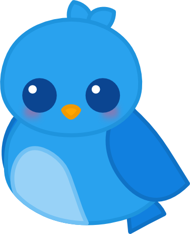 Image result for kawaii twitter bird