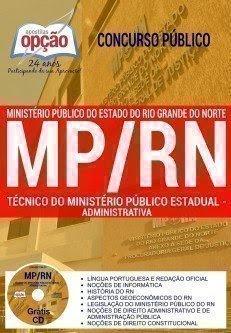 Apostila do MPPR TÉCNICO DO MINISTÉRIO PÚBLICO ESTADUAL - ADMINISTRATIVA