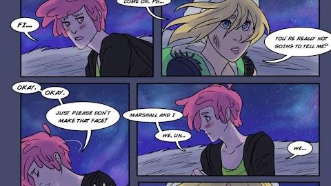 Prince Gumball And Marshall Lee Comic