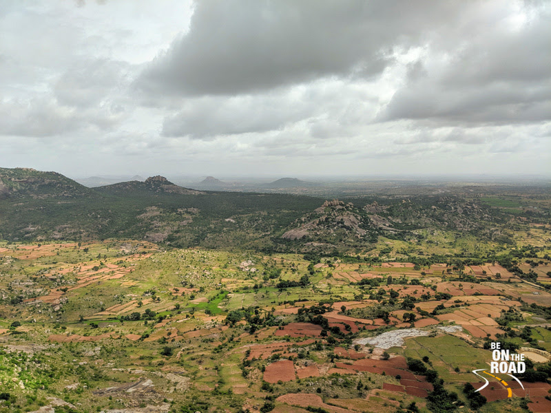 Monsoon Clouds and the Gudibande landscape