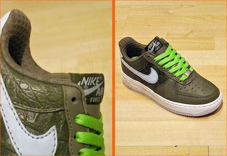 Nike Air Force 1 Premium Low Womens Croc