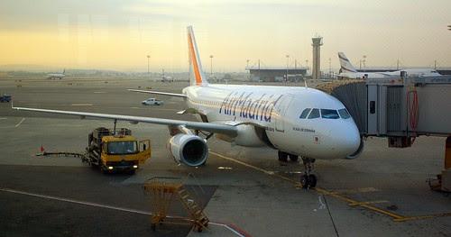 awaiting passengers