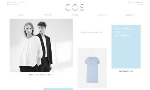 Cos clothes sale online