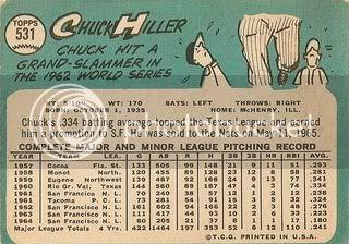 #531 Chuck Hiller (back)