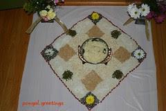 Pogal Kolum Decoration