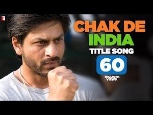 CHAK DE INDIA LYRICS - Sukhwinder Singh | Shah Rukh Khan (2007)