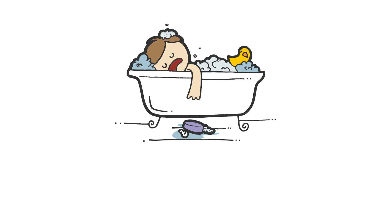 Taking a shower can be more tiring