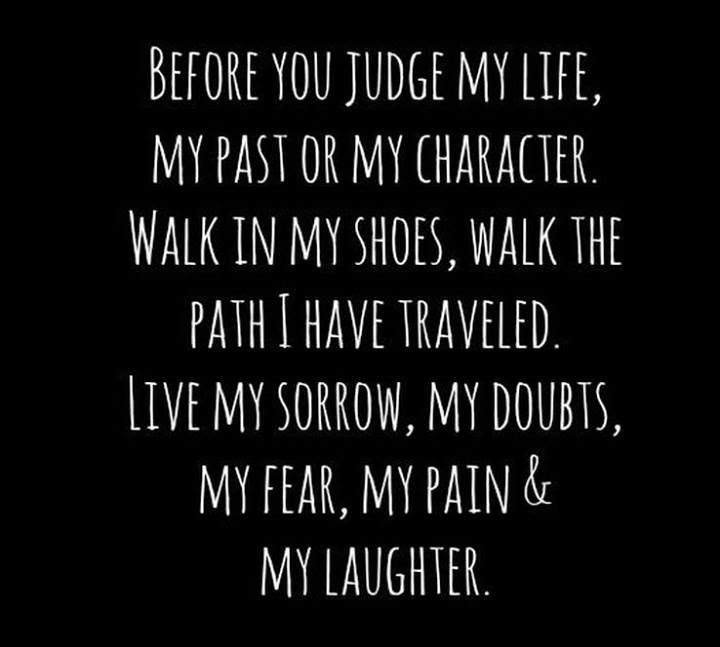 In My Shoes Quotes