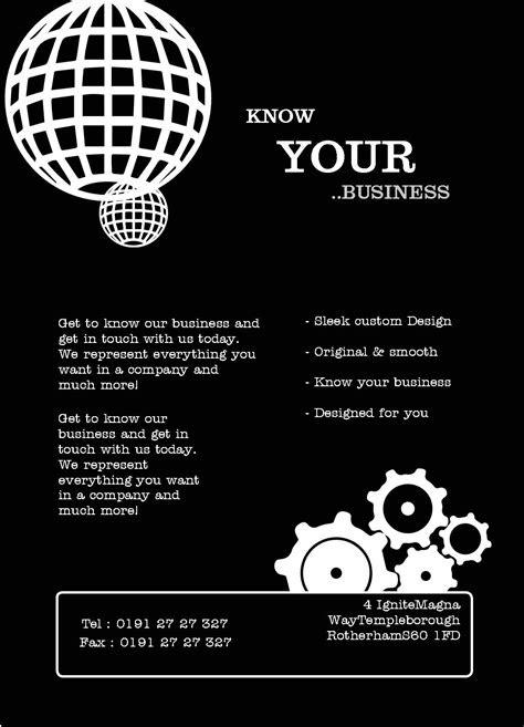 Free Leaflet & Flyer Design Templates