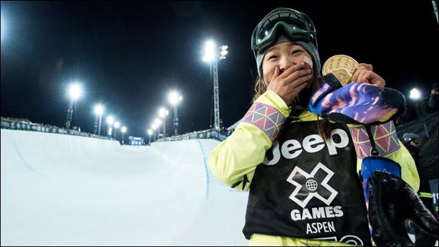 Image Result For Chloe Kim Wins Snowboarding Gold At Olympics How She