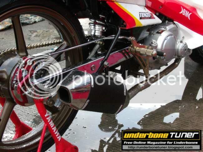 Underbone Tuner: MotoGP Themed Modified Yamaha Vega Force