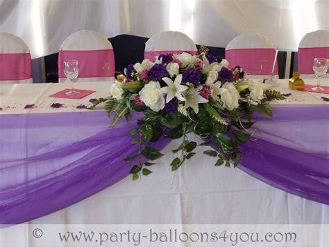 Wedding Venue Decorations Done at Goals Soccer Centre