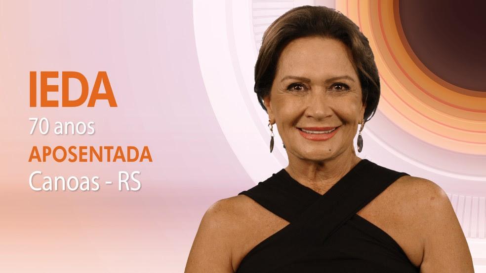 """Ieda, décima participante do """"BBB17"""" (Foto: Globo/Divulgação)"""
