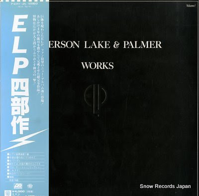 EMERSON, LAKE AND PALMER works volume 1
