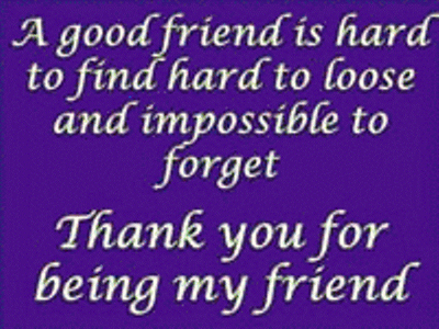 Thank You For Being My Friend Friends Myniceprofilecom