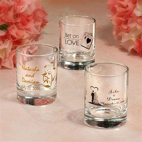 Personalized Shot Glass Favors   Wedding Ideas   Wedding
