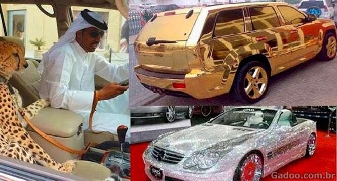 Coisas que você só vê Dubai