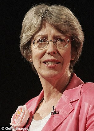 Leading figure: Former Health Secretary Patricia Hewitt. She was general secretary of the NCCL from 1974-1983