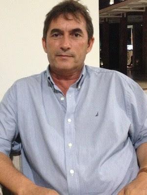 Nosman Barreto, presidente do Cruzeiro de Itaporanga (Foto: Hévilla Wanderley / GloboEsporte.com/pb)